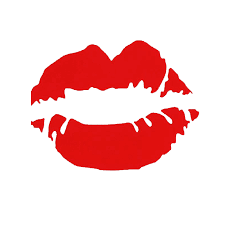 14cm X 10 2cm Red Lips Vinyl Decal Sticker Car Truck Window Laptop Wall Bumper Kiss Lipstick 13 Colors Car Stickers Aliexpress