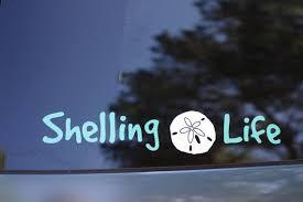 Shelling Life Vinyl Decal Beach Decal Shell Decal Etsy Vinyl Decals Vinyl Decal Stickers Life