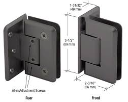 crl oil rubbed bronze offset wall mount
