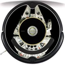 Millenium Falcon Inspired Roomba Decal Azvinylworks