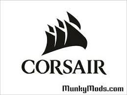 Corsair Sail Logo Computer Pc Case Window Applique Vinyl Decal Color Choices Ebay