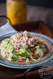 Lemon Tahini Tuna Salad Recipe – Steph ...