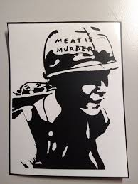 The Smiths Vinyl Sticker Morrissey Car Decal Meat Is Etsy