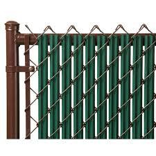 Green 6ft Ridged Slat For Chain Link Fence Walmart Com Walmart Com