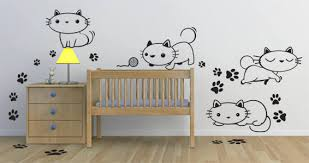 Kitty Cats Wall Decals Dezign With A Z
