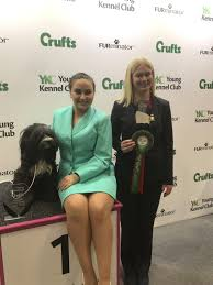 16-year-old Abby places first in three categories at Crufts | Echo