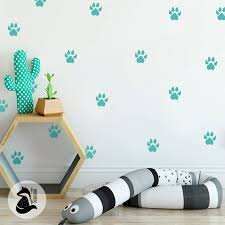 Nursery Decal Wall Stickers For Kids Decals Footprints Of Etsy