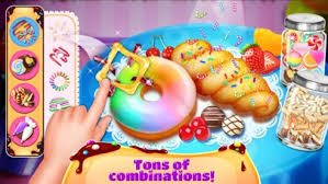 donut maker cooking games by sky