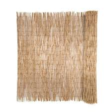 Cali Bamboo Cali Fencing 8 Ft X 4 Ft Natural Wood No Dig Privacy Reed Fencing Rolled Fencing In The Garden Fencing Department At Lowes Com