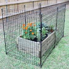 The Multi Purpose Fence Is A Great Option If You Re Looking A Sturdy Garden Fence With No Digging Required Ironcr Garden Fence Garden Fencing Diy Fence