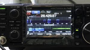 my new icom 7300 it s awesome you