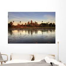 Angkor Wat Cambodia Wall Decal Wallmonkeys Com