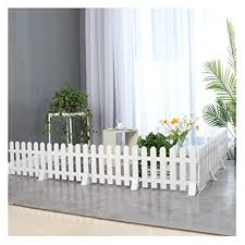 Zhanwei Garden Fence Picket Fencing Indoor Outdoor Decorative Pvc Plastic Animal Barrier White 5 Sizes Color 50x30cm Size 5 Pcs Amazon In Garden Outdoors