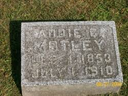 Addie Carter Motley (1853-1910) - Find A Grave Memorial