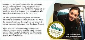 nundah qld hire for baby