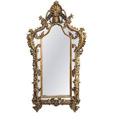 baroque gold ornate mirror