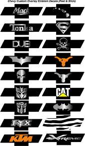 Chevy Bowtie Emblem Overlay Decals Sticker Wraps Bowtie Decals Bowtie Stickers Chevy Bowtie Wraps Chevy Bowtie Stickers Punisher Wraps Chevy Punisher Bowtie