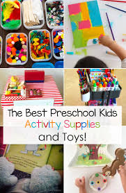 Best Preschool Supplies And Toys Fun With Mama