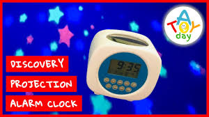 Stars On Your Ceiling In Kids Room Discovery Projection Alarm Clock Sound Machine Projection Clock Youtube