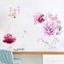 Large Peony Wall Decals The Treasure Thrift