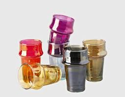 modern moroccan tea glasses