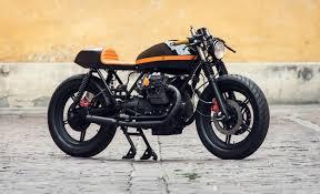 moto guzzi v65 cafe racer by ventus