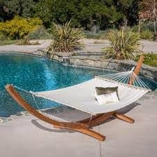 Christopher Christopher Knight Home Grand Cayman Hammock - Outdoor Living -  Patio Furniture - Swings