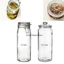 ikea glass mason jar clip top airtight