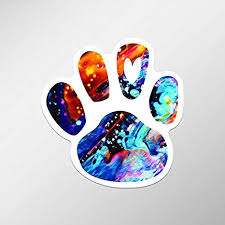 Macbooks 2 Pack Dog Paw Print Heart Love Vinyl Decal Sticker For Chromebooks Pd636 3 75 Inches By 3 75 Inches Uv Resistant Laminate Truck Premium Quaility Stickers Car Itrainkids Com