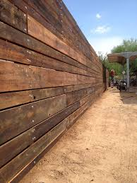 Reclaimed Wood Outdoor Perimeter Fence Porter Barn Wood