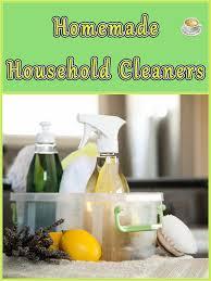homemade household cleaners coffee