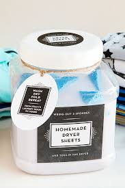 diy reusable dryer sheets party