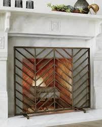 12 freestanding fireplace screens