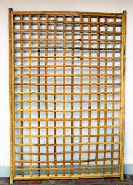 Bamboo Trellis Screen