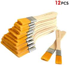 Chip Paint Brushes 12 Pack Artist Paint Chip Brushes Shed And Fence Block Brush Large Area Paint Brushes Paint Brush Varnish Brushes Amazon Ca Home Kitchen