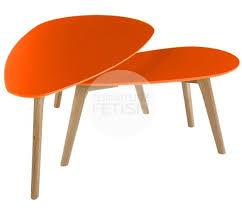 amazing orange coffee tables creative