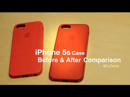 review iphone 5s leather case red