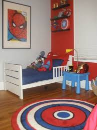 Pin By Brittnee Williams On Superheroe Room Marvel Bedroom Boy Room Paint Spiderman Bedroom