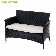 outdoor garden furniture 2 seat rattan