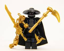 LEGO® Ninjago - Lord Garmadon with 4 Gold Weapons and Capes - The ...