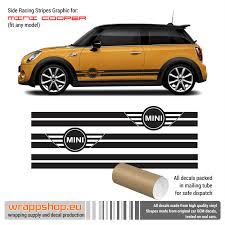 High Quality Vinyl 4 Mini Cooper S Side Stripe Sticker Decal Racing Graphic Archives Statelegals Staradvertiser Com