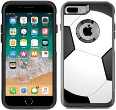 Amazon Com Teleskins Protective Designer Vinyl Skin Decals Compatible With Otterbox Commuter Iphone 7 Plus Iphone 8 Plus Case Soccer Design Pattern Only Skins And Not Case