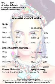 makeup artist cost for wedding