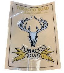 Custom Vinyl Decal Tobacco Road Golf Club