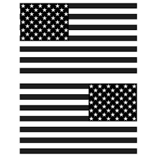 American Flag Decal 6 X 3 5 Set Of 2 Click To See Available Colors Sir Vivor