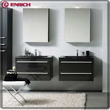 european style double sink bathroom