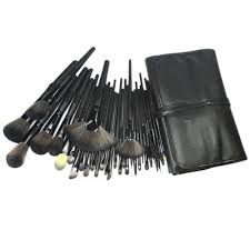 cosmetic makeup brush set kit pouch