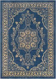 blue yellow area rug at rug studio