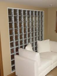 glass block walls or partition glass