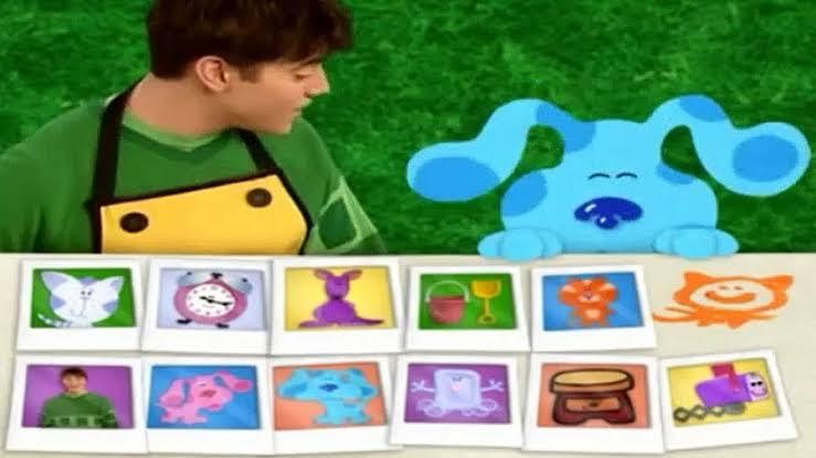 Blue Clues - 90s Cartoons